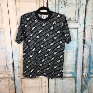 adidias black and white t-shirts *B09-10,12-13